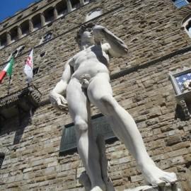 Copy of David, Piazza della Signoria