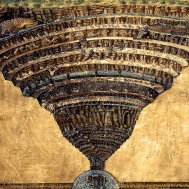 Botticelli's Map of Hell